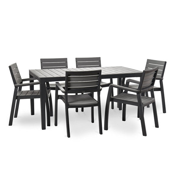 Keter Harmony Outdoor Table Grey