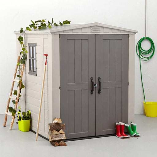 Keter Factor 6 x 6 Outdoor Garden Shed (Free Assembly + Delivery)