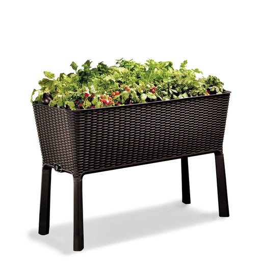 Easy Grow Garden Patio Planter with legs 120L