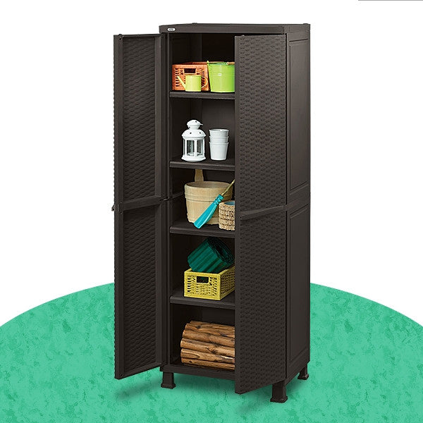 Keter Rattan Utility Cabinet With Legs The Home Shoppe