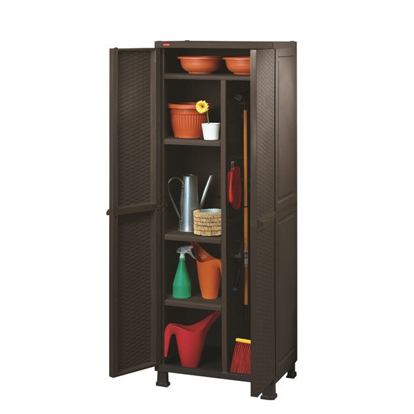 Rattan Multipurpose Cabinet with Legs