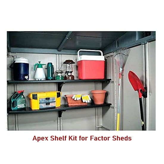 Apex Accessory Set for Keter Factor shed