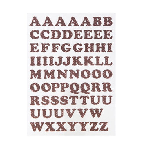 Alphabet Sticker Dot