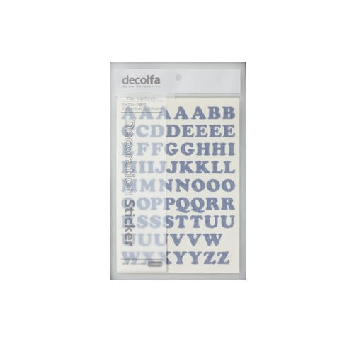 Alphabet Sticker Plain