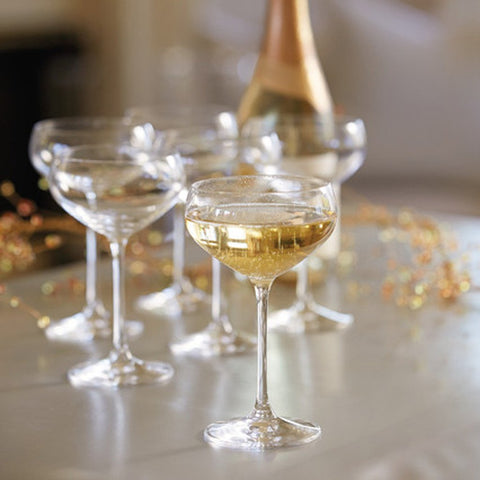 Glasses: Spiegelau Champagne Coupes