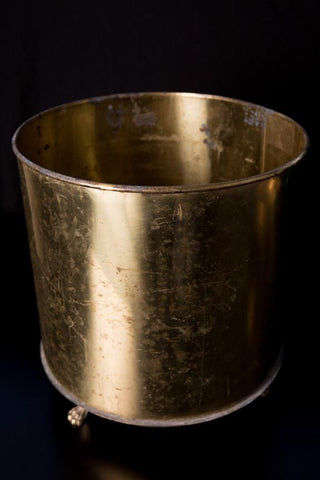 Large Brass Tubs