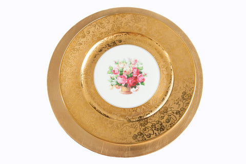 Assorted Antique Dinner Plates