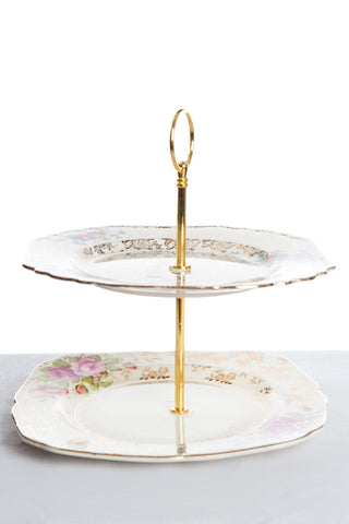 Assorted Two Tier High Tea Stands