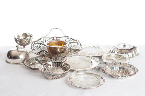 Assorted Small Silver Dishes