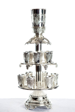 Silver Wine Cup Fountain
