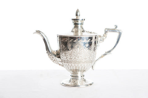 Assorted Antique Silver Tea Pots