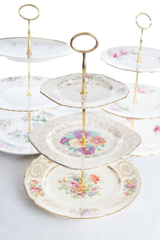 3 Tier Cake Stand - Vintage