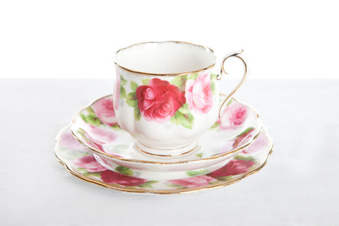 Assorted Vintage Tea Cup, Saucer and Plate Sets