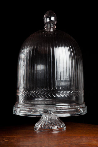 Large French Crystal Dome