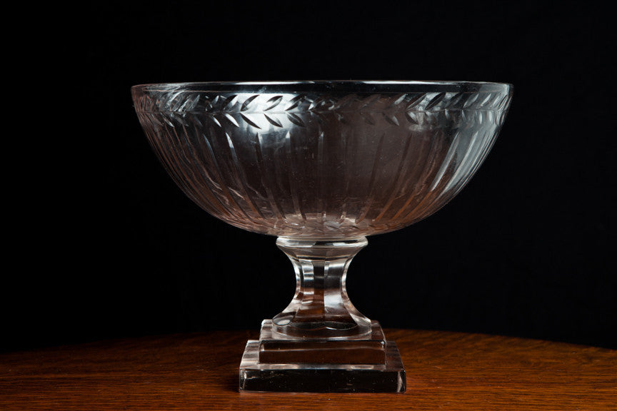 Large French Crystal Trifle Bowl – Miss Frou Frou