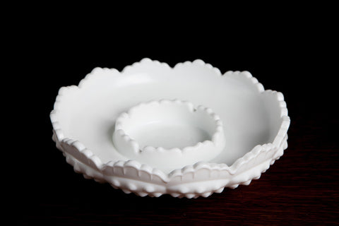 Assorted Milk Glass Pieces - Small