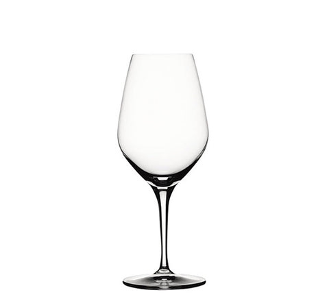 Glasses: Spiegelau Red Wine