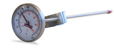Stainless Steel Thermometer by Mad Millie - Great for Cheese Making