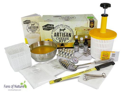 Artisan Cheese Kit - make up to 20 batches (~10 kg) of cheese!