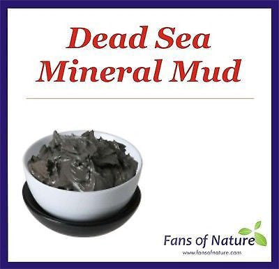 Dead Sea Mineral Mud Clay - Face & Body Mask, Acne, Eczema, Psoriasis