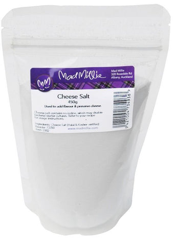 Cheese Salt by Mad Millie - Contains no iodine - 450g