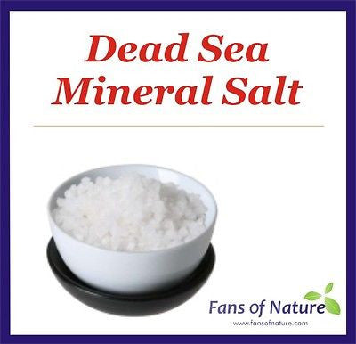 Dead Sea Mineral Salt - Detox, Bath, Body Foot Scrub, Skin Problems, Spa