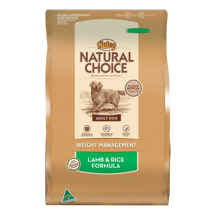 NUTRO NATURAL CHOICE WEIGHT MANAGEMENT 3kg