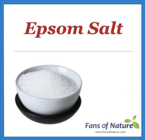 Epsom Salt -For Tired Foot, Muscles, Aches & Pains, Detox, Bath, Spa, Laundry