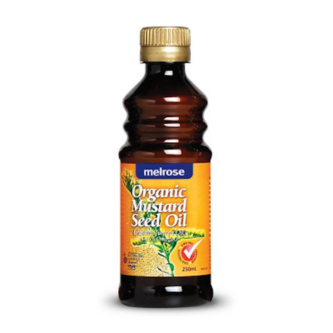 Melrose Organic Mustard Seed Oil 250ml