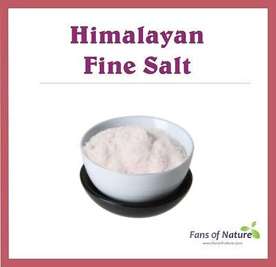 Fine Himalayan Salts - Detox, Bath, Body Foot Scrub, Skin Problems, Spa