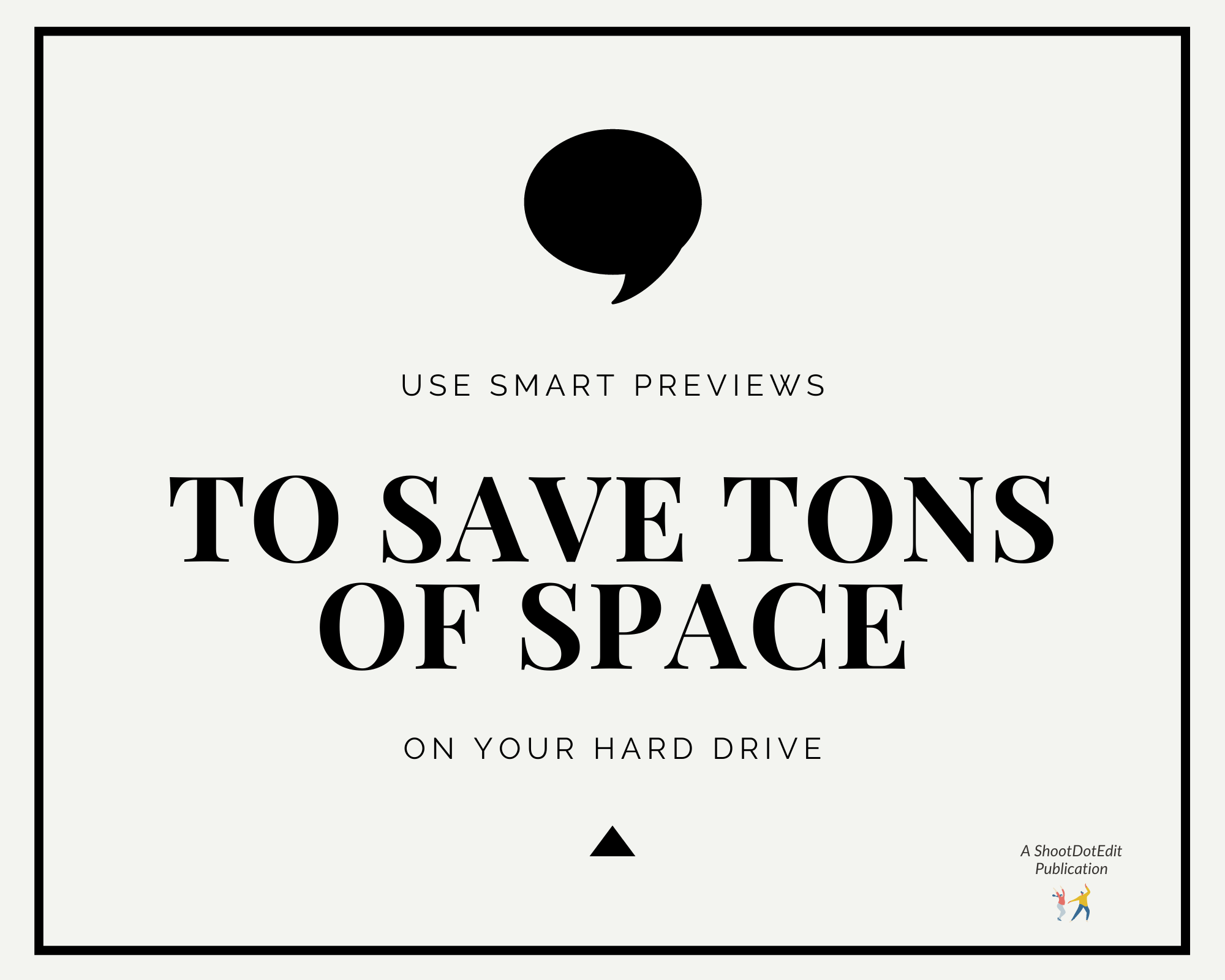 Infographic stating use this feature to save tons of space on your hard drive