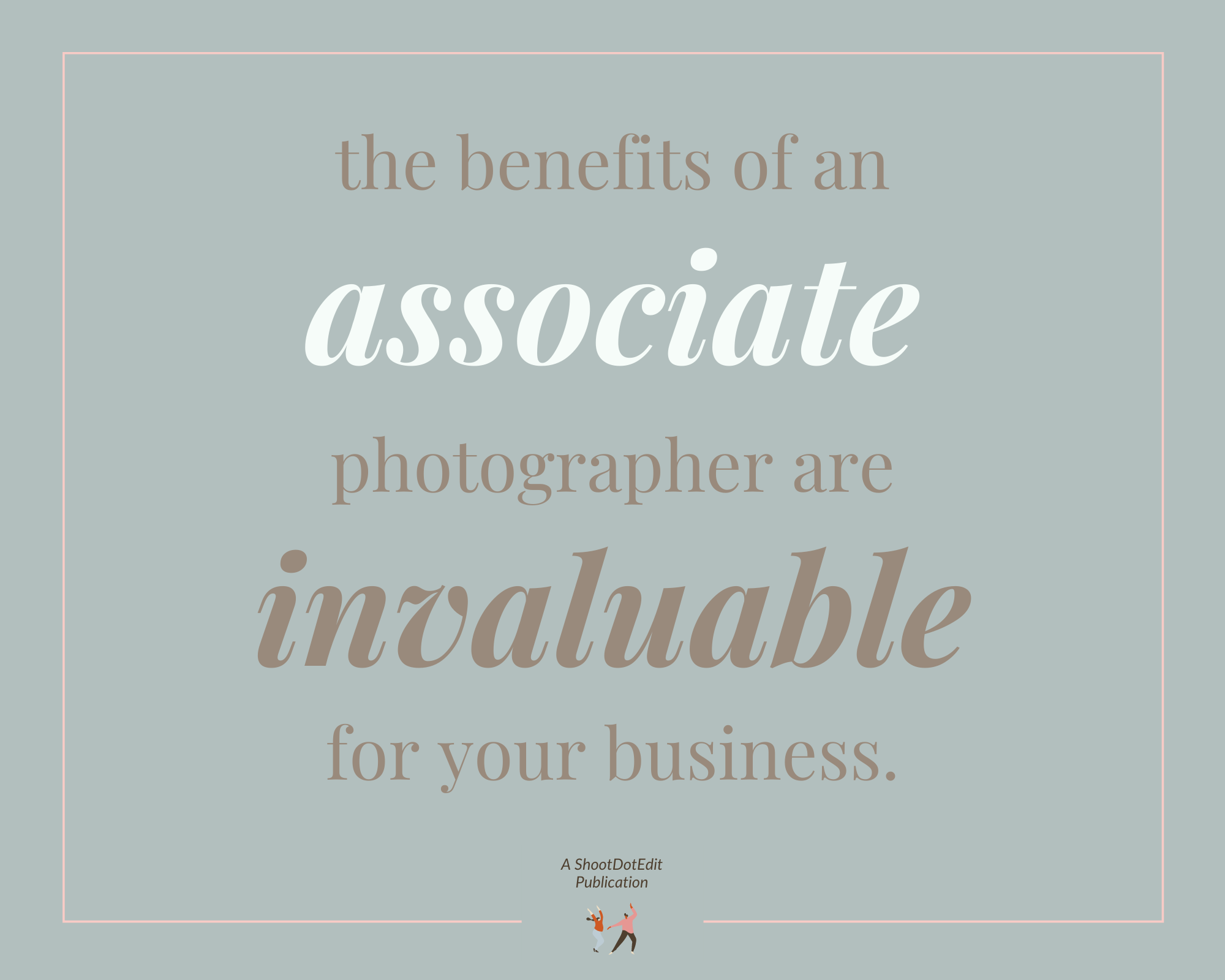 Infographic stating the benefits of an associate are invaluable for your business