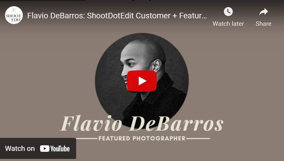 video for flavio debarros black history month feature photographer