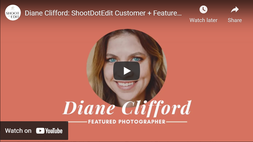 Video of Diane Clifford Women's History Month Feature Photographer