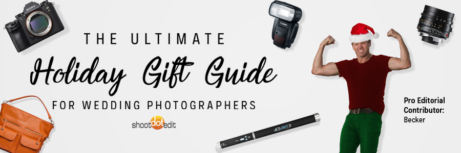 the wedding photographer's ultimate guide to holiday gifts