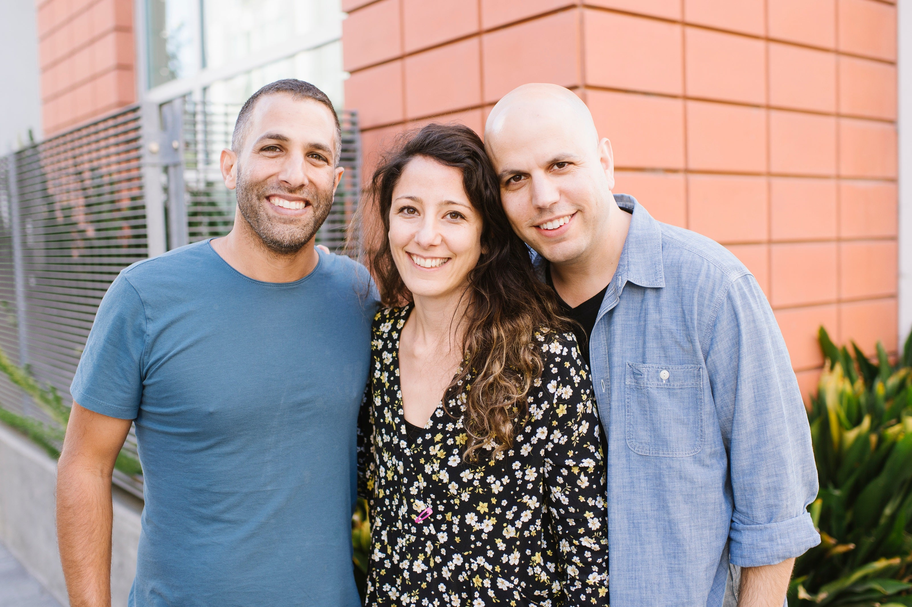 A portrait of HoneyBook founders