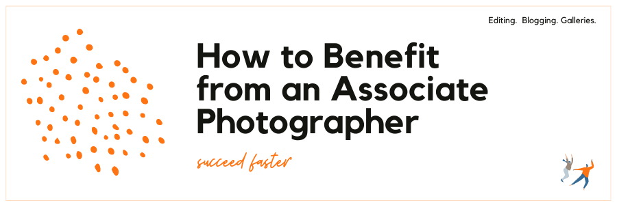Infographic - How to benefit from an associate photographer
