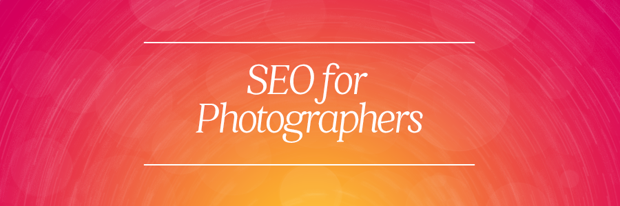 Graphic displaying - SEO for photographers