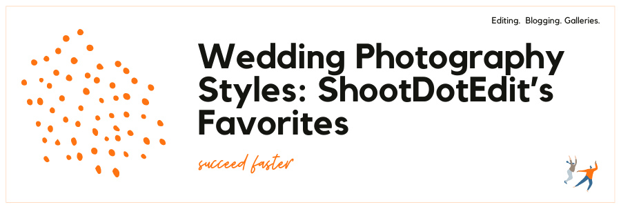 Infographic on Wedding Photography Styles