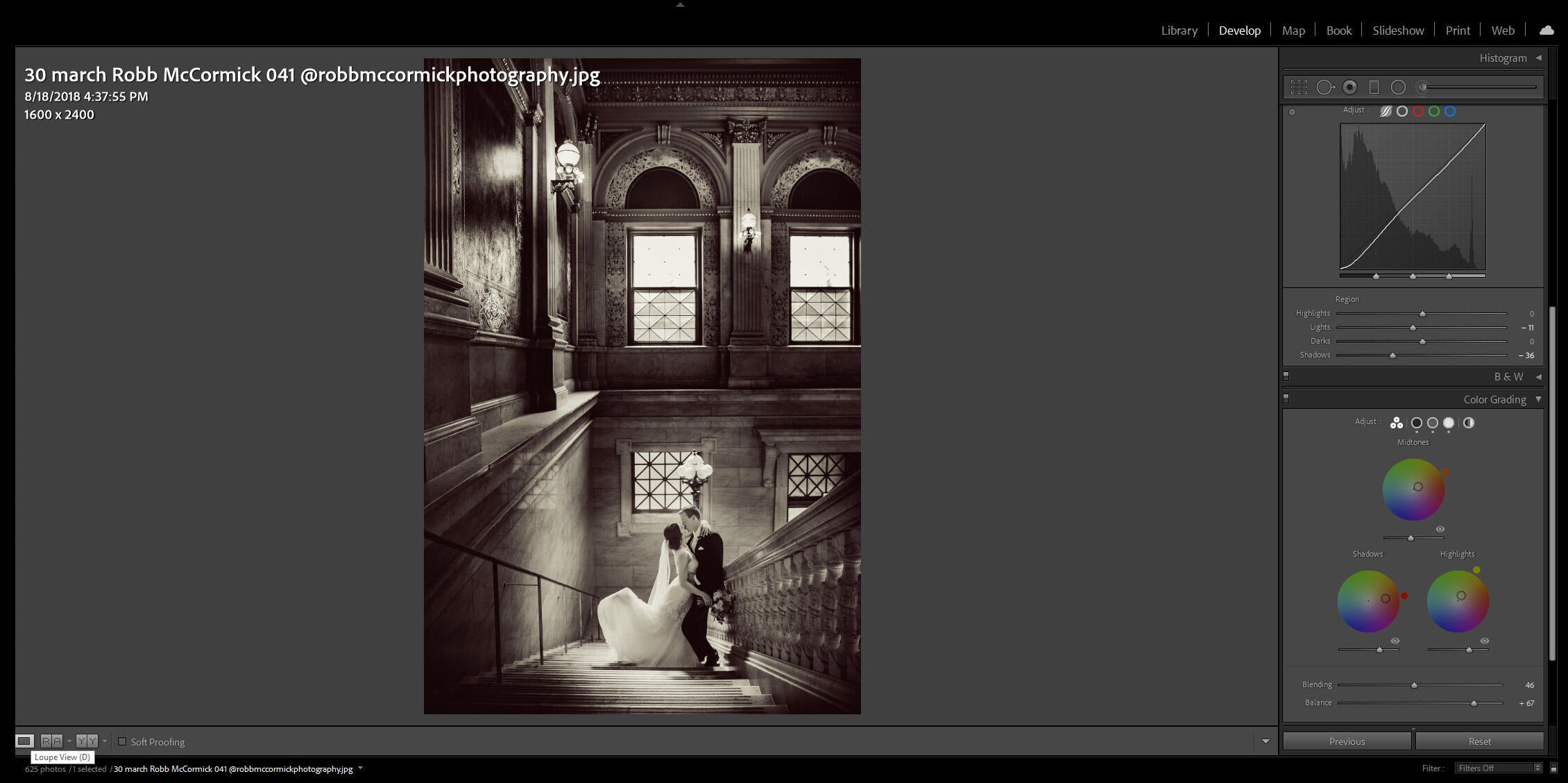 Create a Vintage Photo Effect in Lightroom