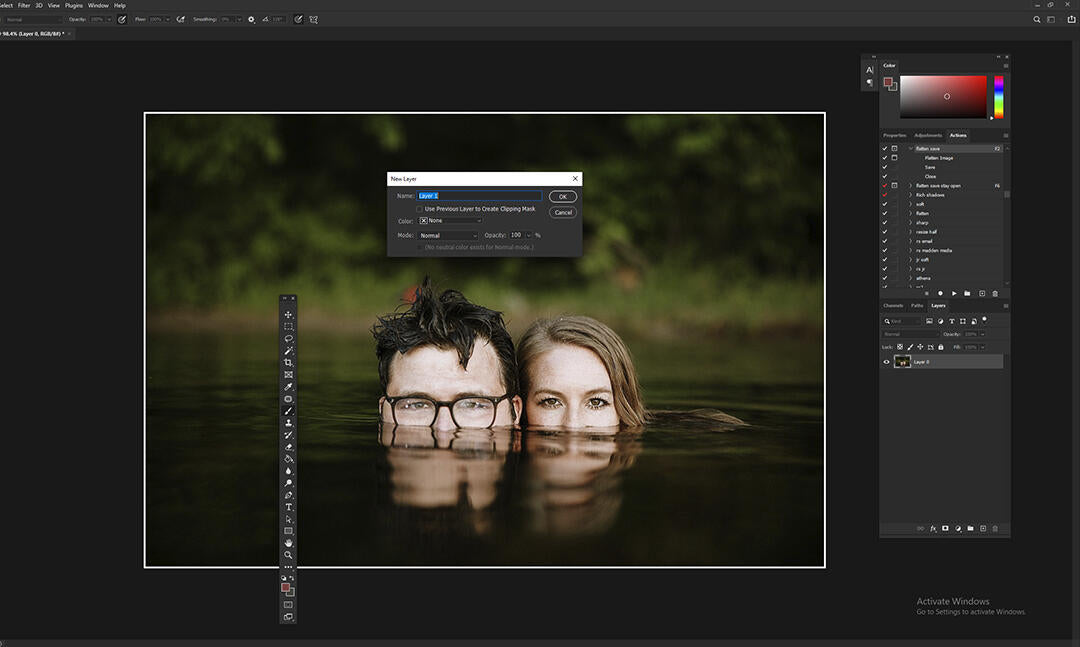 How to Remove Glass Glare From Photos in Photoshop with brush tool