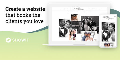 Create a website that books the clients you love