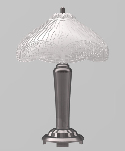 Digital STL Dollhouse Miniature Tiffany Lamp Files for 3D Printing in 1:12 Scale