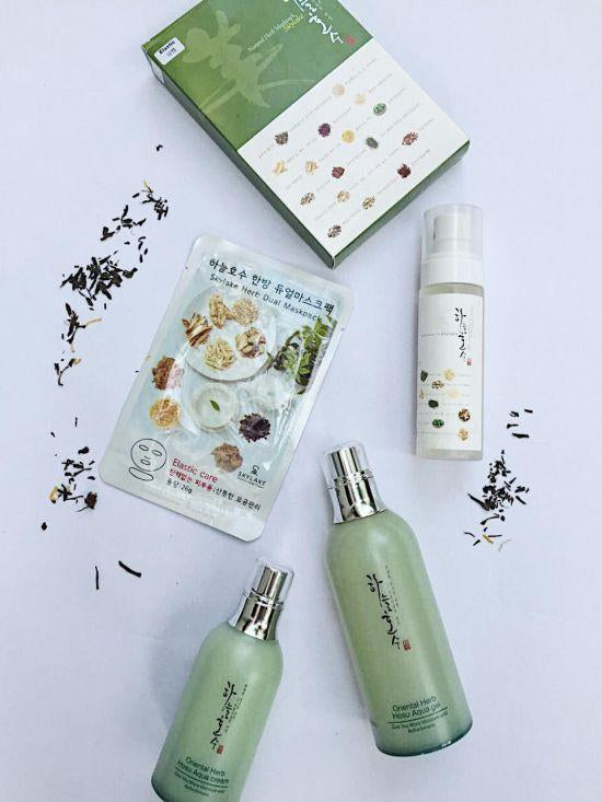 [GO4GLOW]: New Indie brand Skylake is hanbang heaven if you're looking for natural/ clean skincare