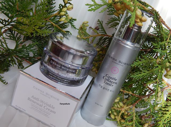 [happinessgirl30] Review: Derma Science Gentle Collagen Toner & Anti-Wrinkle Renewal Cream