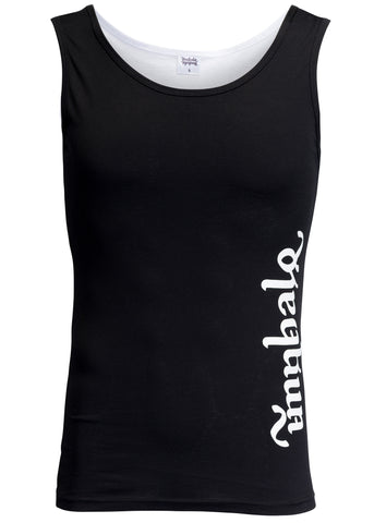 Unisex Two-way Black & White Tank