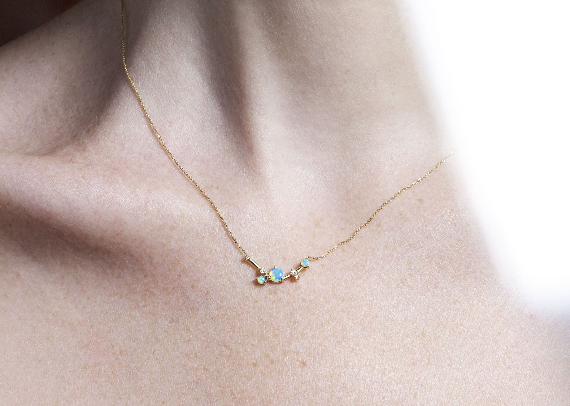 Organic Triangle Necklace