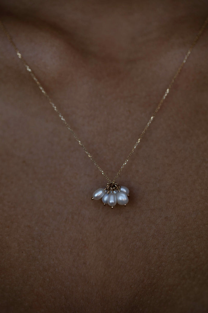 Pearl Cloudburst Necklace