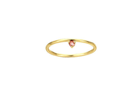 Blush One-Step Ring
