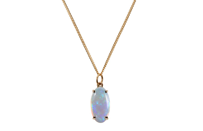 One of a Kind Medium Opal Pendant 1